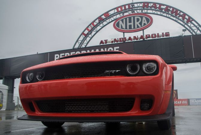 The  Dodge Challenger Srt Demon Lives Up To The Hype With Violent Speed